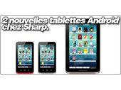 2 nouvelles tablettes Android chez Sharp.