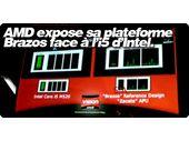 AMD expose sa plateforme Brazos face à l'i5 d'Intel.
