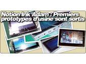 Notion Ink Adam : Premiers prototypes d'usine sont sortis, amélioration du multitache Android.