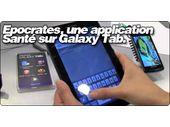 Epocrates lance RX une application Santé sur Galaxy Tab.