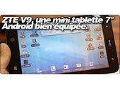ZTE V9, une mini tablette 7