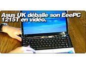 Asus UK déballe son EeePC 1215T en vidéo.