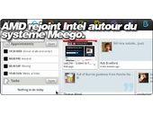 AMD rejoint Intel autour du systeme Meego. AMD solidifie ses bases autour des tablettes et netbooks.