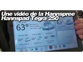 Une vidéo de la Hannspree Hannspad Tegra 250 sous Android 2.2.