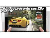 Creative présente ses tablettes Android Ziio 7 et 10