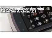 Cowon annonce des mini tablettes 3.7