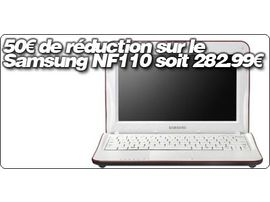 50€ de réduction sur le Samsung NF110 soit 282.99€ !