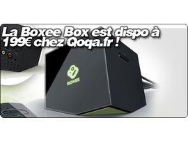 La Boxee Box est dispo à 199€ chez Qoqa.fr !