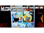 L'impressionnante reconnaissance vocale de l'ExoPC en test.