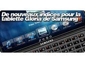De nouveaux indices pour la tablette Gloria de Samsung