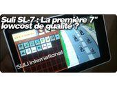 Suli SL-7 : La première tablette 7
