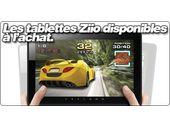 Les tablettes Ziio disponibles à l'achat.