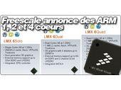 Freescale annonce de nouvelles puces ARM 1, 2 et 4 coeurs.