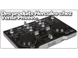Des produits Hercules chez Vente Privée.