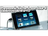 Panasonic lâche à son tour 4 tablettes de 4 à 10