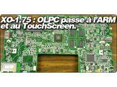 XO-1.75 : OLPC passe à l'ARM et au TouchScreen.