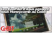 Les EeePAD d'Asus passent sous Android 3.0 Honeycomb au Cebit
