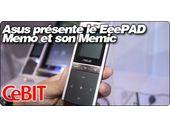 CeBit 2011 : Asus présente son EeePAD Memo accompagnée du Memic, une télécommande téléphone de poche.