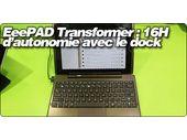 EeePAD Transformer : 16 heures d'autonomie avec le dock