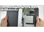 Les entrailles de la tablette Android Xoom de Motorola