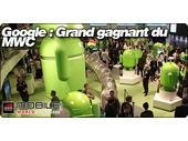 Google Android, la star du MWC 2011.