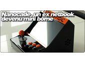 Nanocade, un ex netbook  devenu mini borne