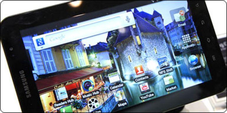La Galaxy Tab Wifi désormais sous les 390€ en France