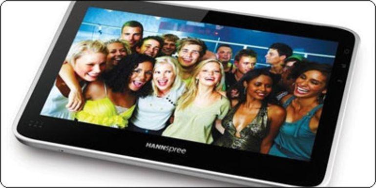 """La tablette Hannspree 10"""" débarque en France à 349€"""
