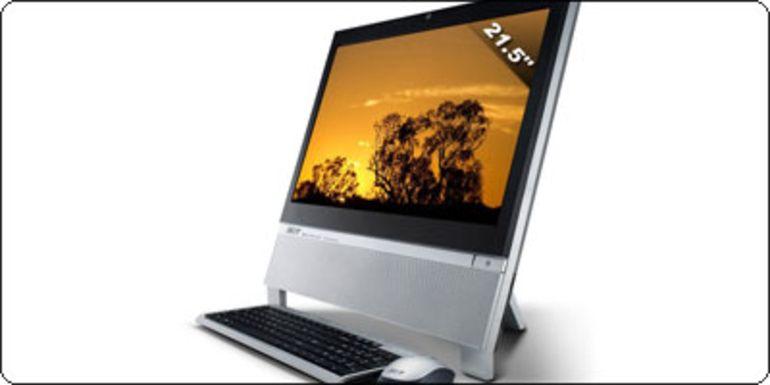 """Un Tout-en-un Acer 21.5"""" Full HD Athlon II 220 X2 Tuner TNT + Graveur en destockage à 499€"""