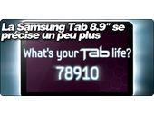 La Samsung Galaxy Tab 8.9