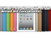 L'iPad 2 4 fois plus rapide sous Sunspider que l'iPad 1 ?