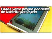Faites votre propre pochette de tablette pas à pas.