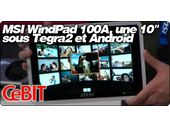 MSI WindPad 100A, une tablette 10