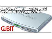 Le Trim Slice sous Tegra 2 évolue vers une version HDD et se rapproche.