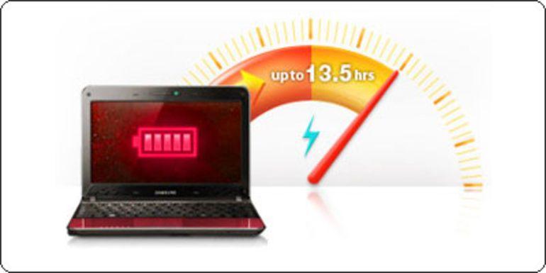 Samsung N220 Plus Premium : 13 heures d'autonomie pour 329€