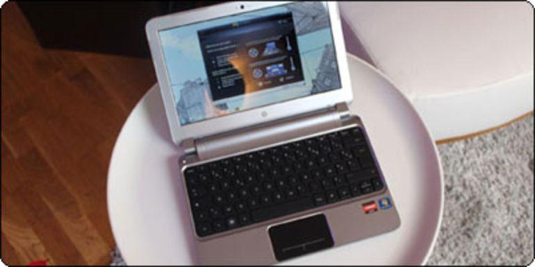 """Le 11.6"""" HP DM1-3130sf sous AMD Zacate E350 à nouveau disponible à 379€"""