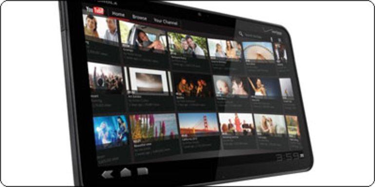 La Motorola Xoom en vente sur Qoqa.fr à 569€