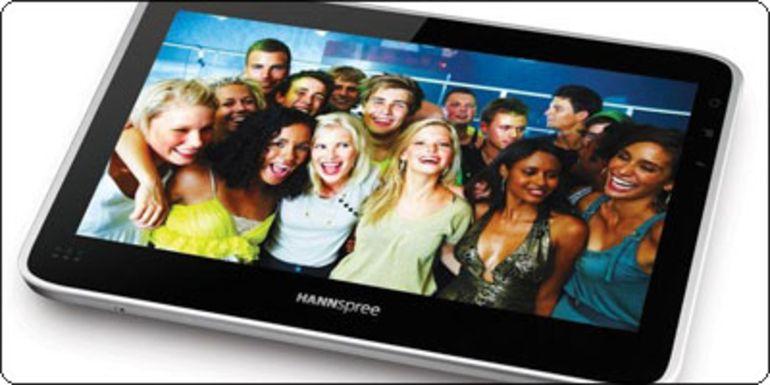 "La Tablette Hannspree SN10T1 10"" sous Tegra 2 à 179€"