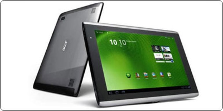 L'Acer Iconia Tab A500 16Go + carte MicroSD 16Go à 419€.