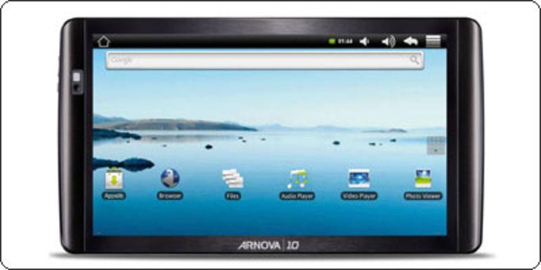 """L'Arnova 10b, la tablette 10"""" capacitive à 179€ !"""