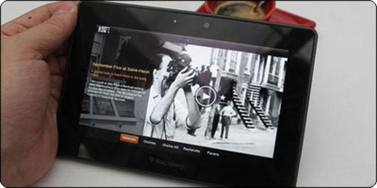La Playbook 64Go à 299€ chez RueDuCommerce
