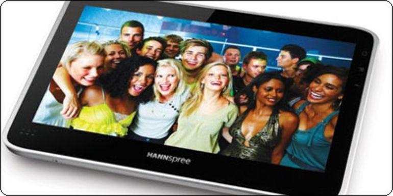 "SOLDES : 199€ La tablette Hannspree SN10T1 10"" capacitive Tegra 2 en 16Go"