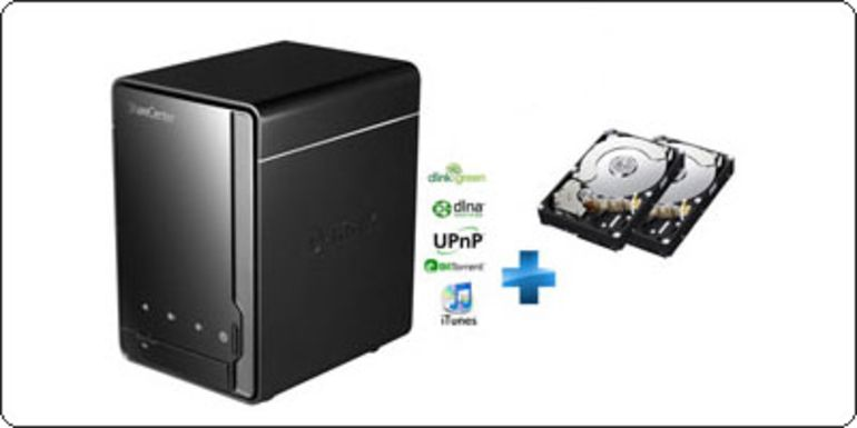 MAJ : Un NAS D-Link DLNA + 1 disque de 2To à 99€