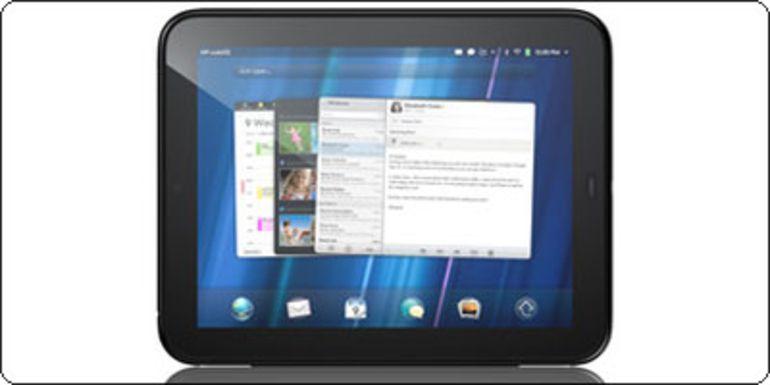 La tablette HP Touchpad à 99€ en 16Go, 129€ en 32Go et 179€ en 64Go en France