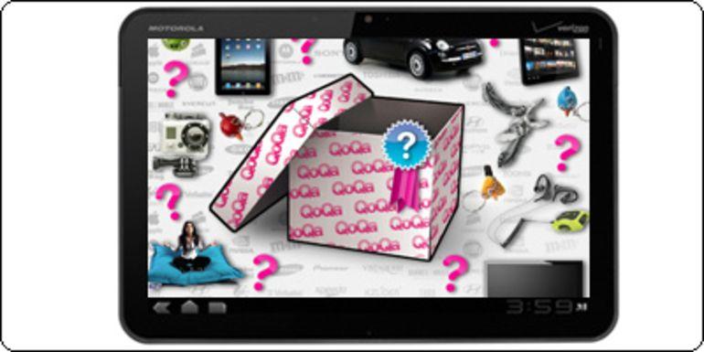 Concours Qoqa.fr / Blogeee : Une Motorola Xoom 32Go à gagner !