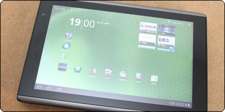 L'Acer Iconia Tab 16Go Wifi à 320€ chez TopAchat