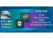 3 nouveaux Atom Cedar Trail en approche chez Intel