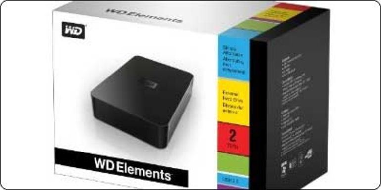 Un disque dur Externe 2To Western Digital à 114.90€ chez Amazon