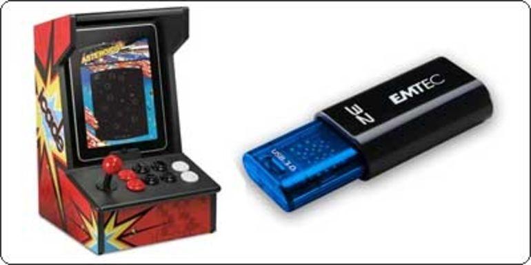 2 Promos pour commencer la journée : Clé USB 3.0 et Ion iCade