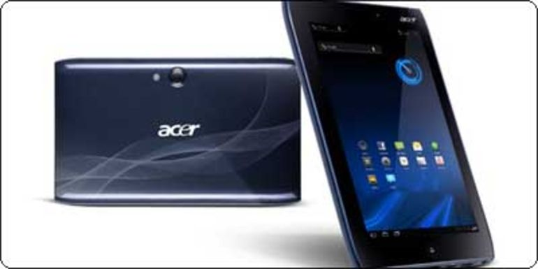 SOLDES : Acer A100 : 7 pouces - Tegra 2 - Android 3 @ 236.90€